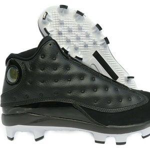 AJ8016-001 Jordan XIII (13) Retro Baseball Cleats